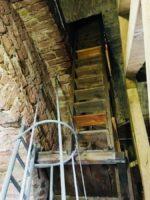 Aufstieg Glockenturm