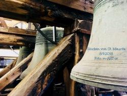 Mauritzkirche - drei Glocken