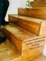 Mauritzkirche - Stufen
