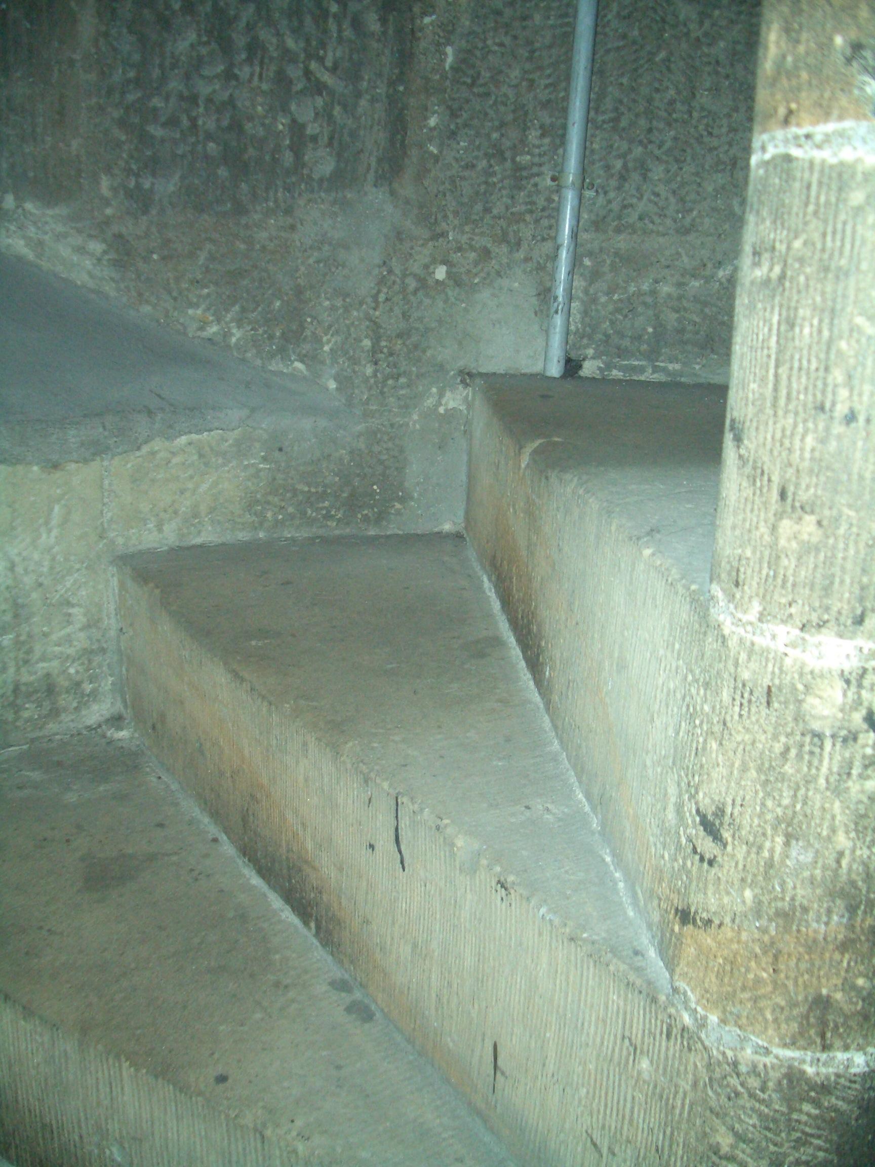 Drehwurm... Treppenstufen