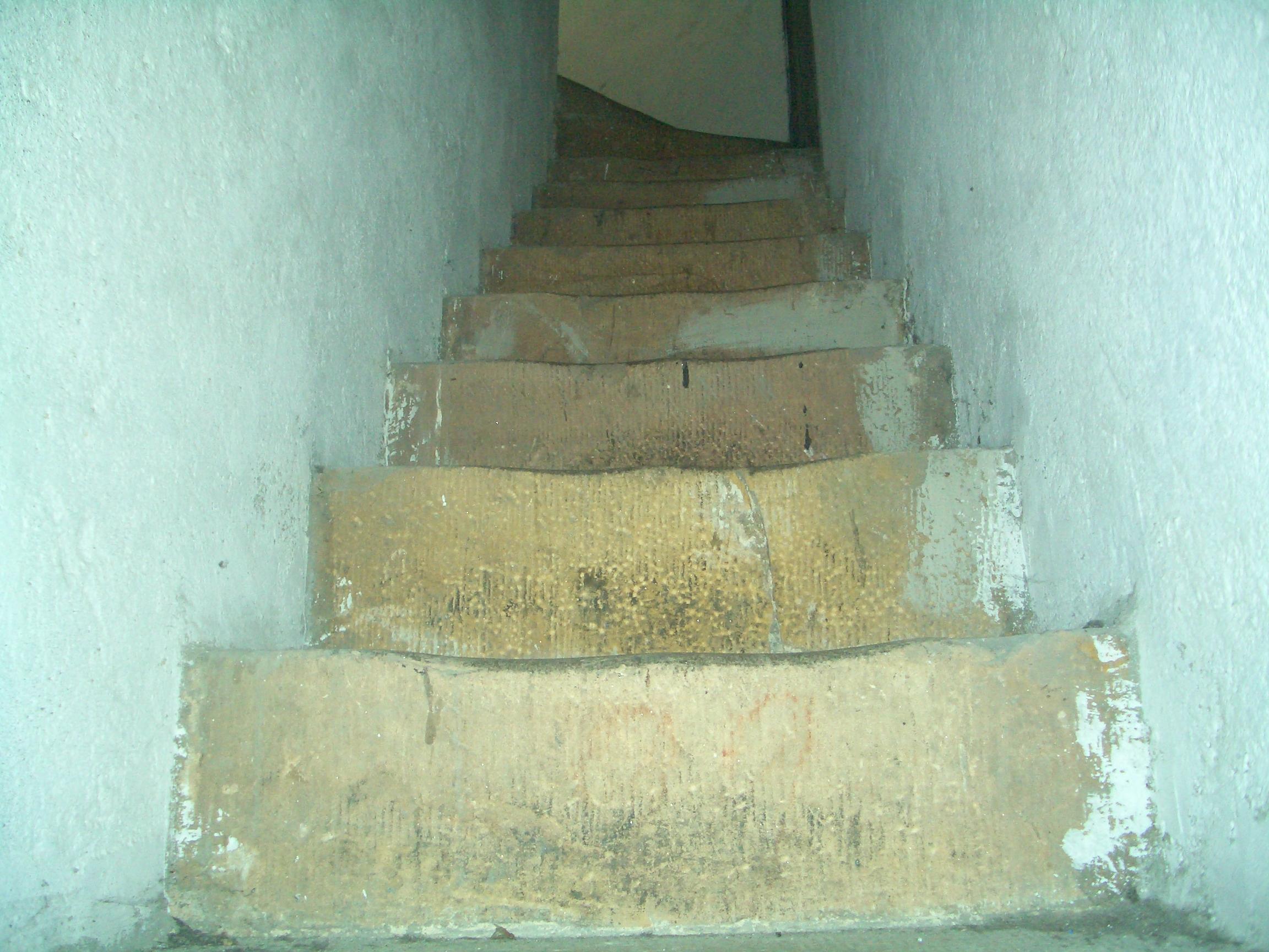 noch mehr Treppenstufen