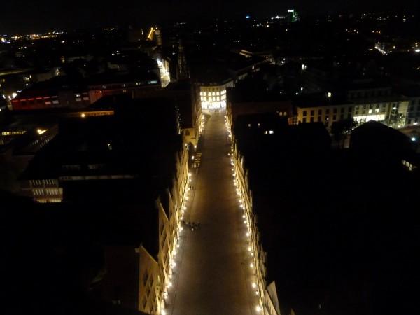 Prinzipalmarkt bei Nacht