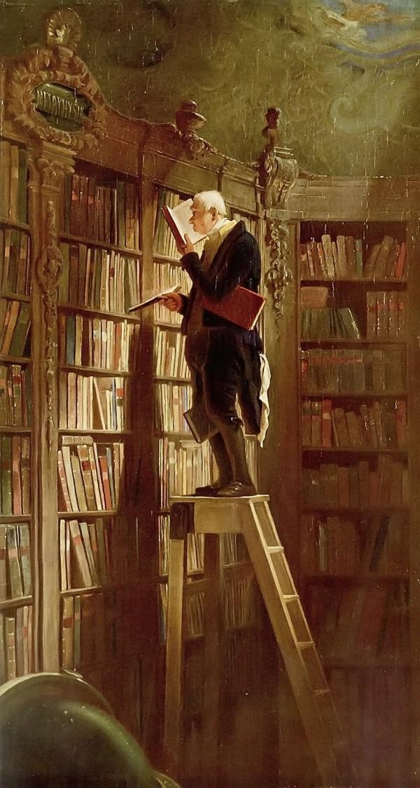 Bücherwurm - Spitzweg