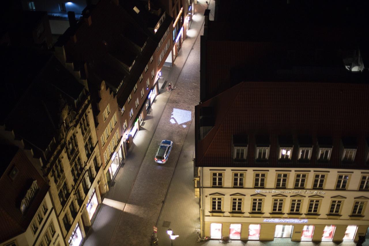 Police at Alter Fischmarkt