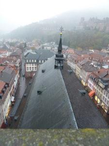 Das Dach von Heiliggeist