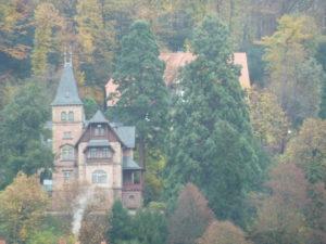 Tuckesburg? Nein, ein Heidelberger Haus!