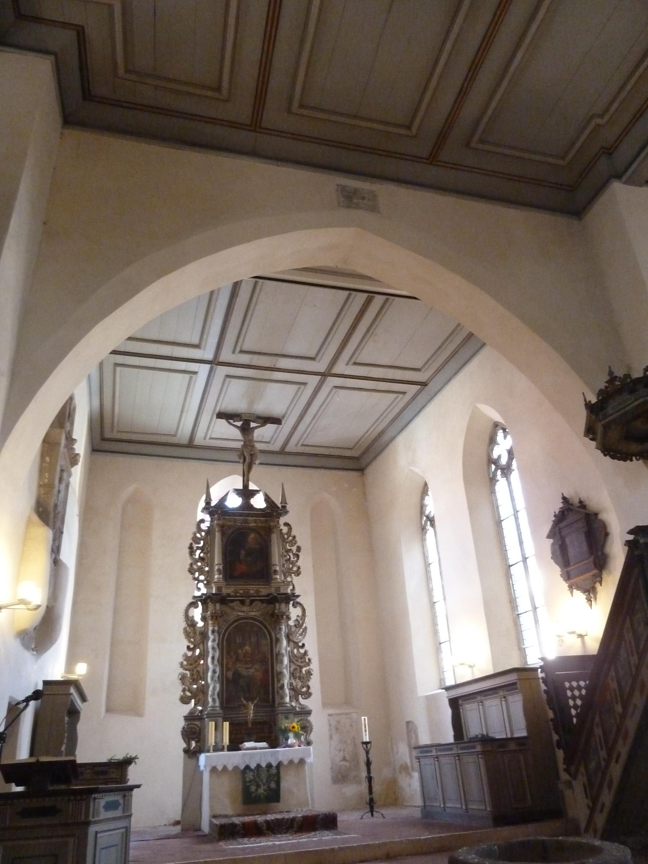 inside St. Marien