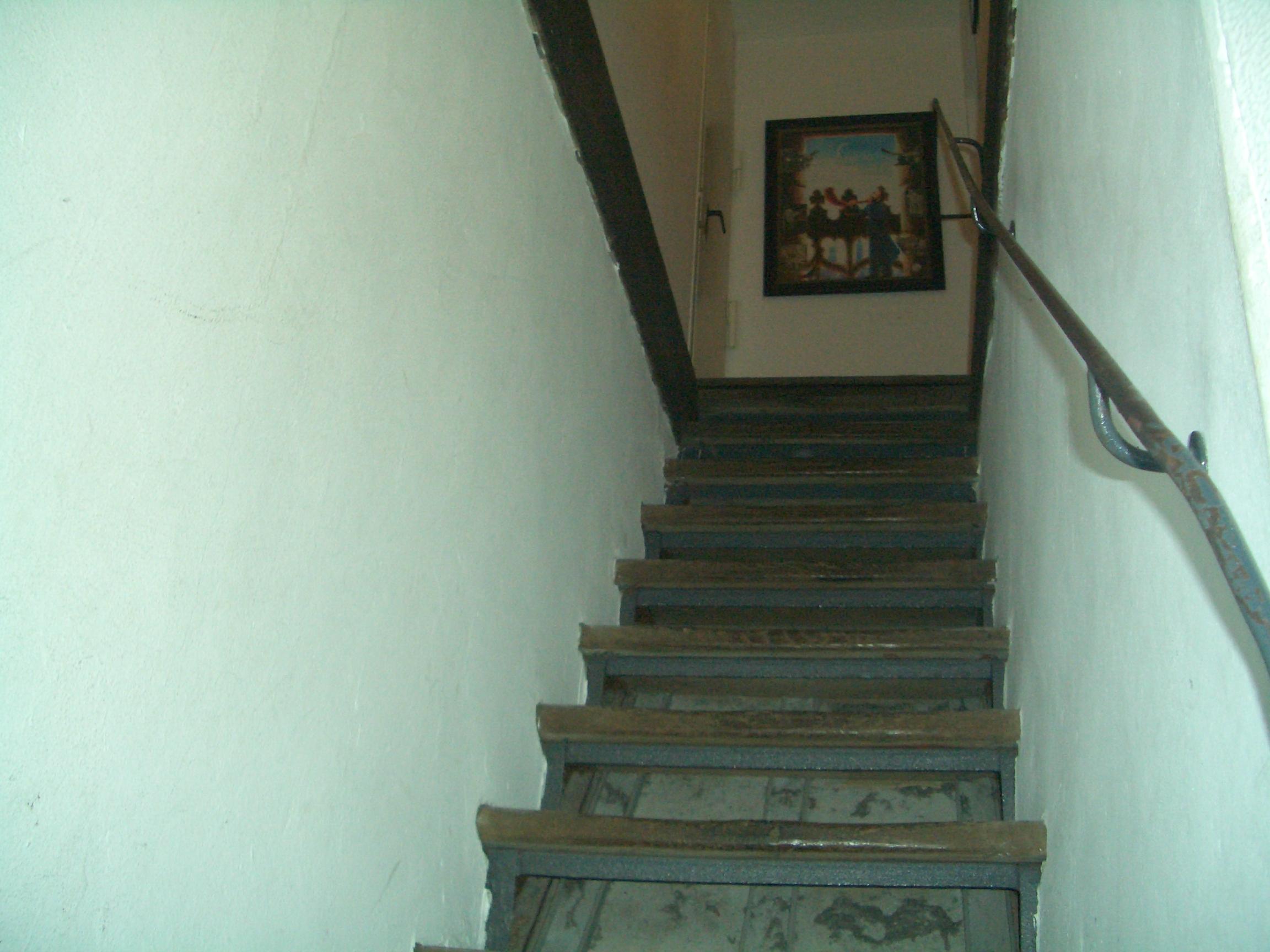 letzte Stufen zur Türmerstube