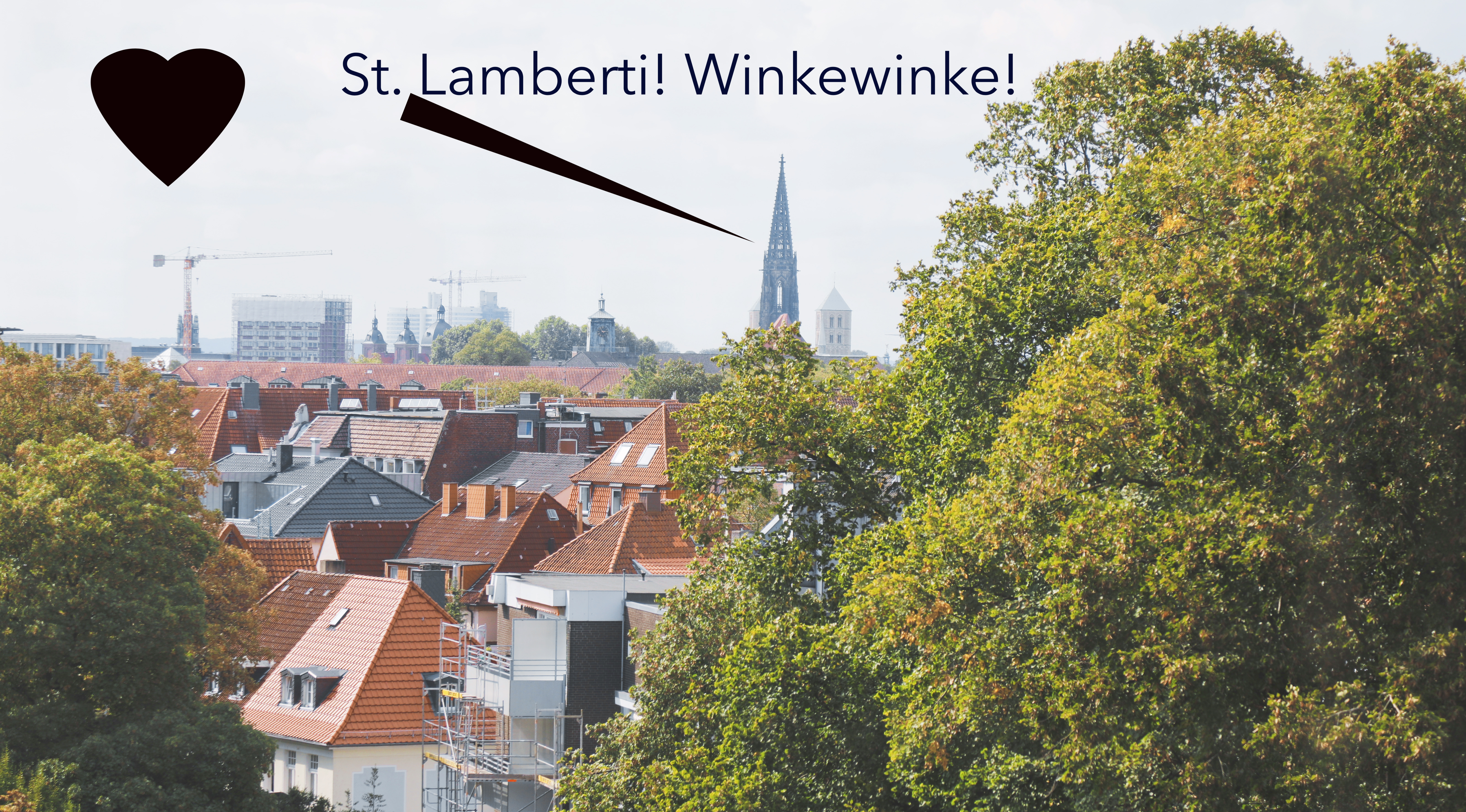 St. Lamberti ist auch sichtbar!