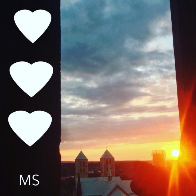 Abendsonne über Münster