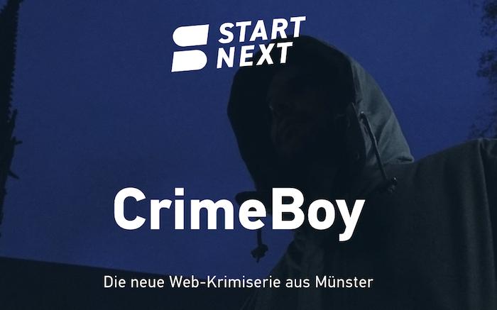 Symbolbild für die StartNext-Seite für CrimeBoy