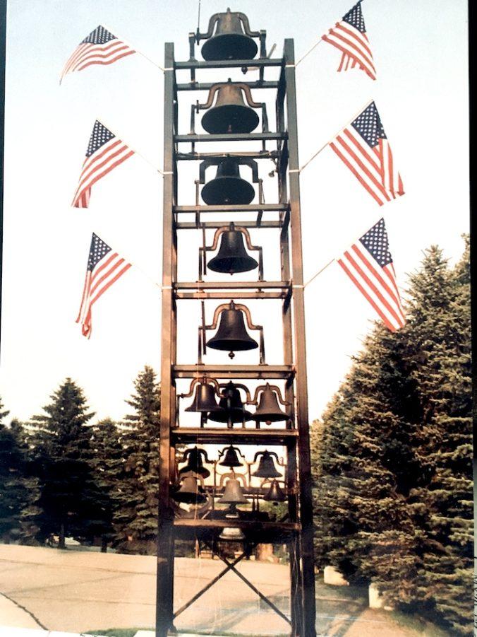 Glockenturm in Rugby