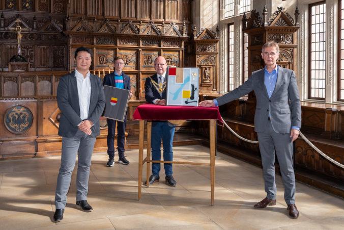 Das 8. Goldene Buch von Münster