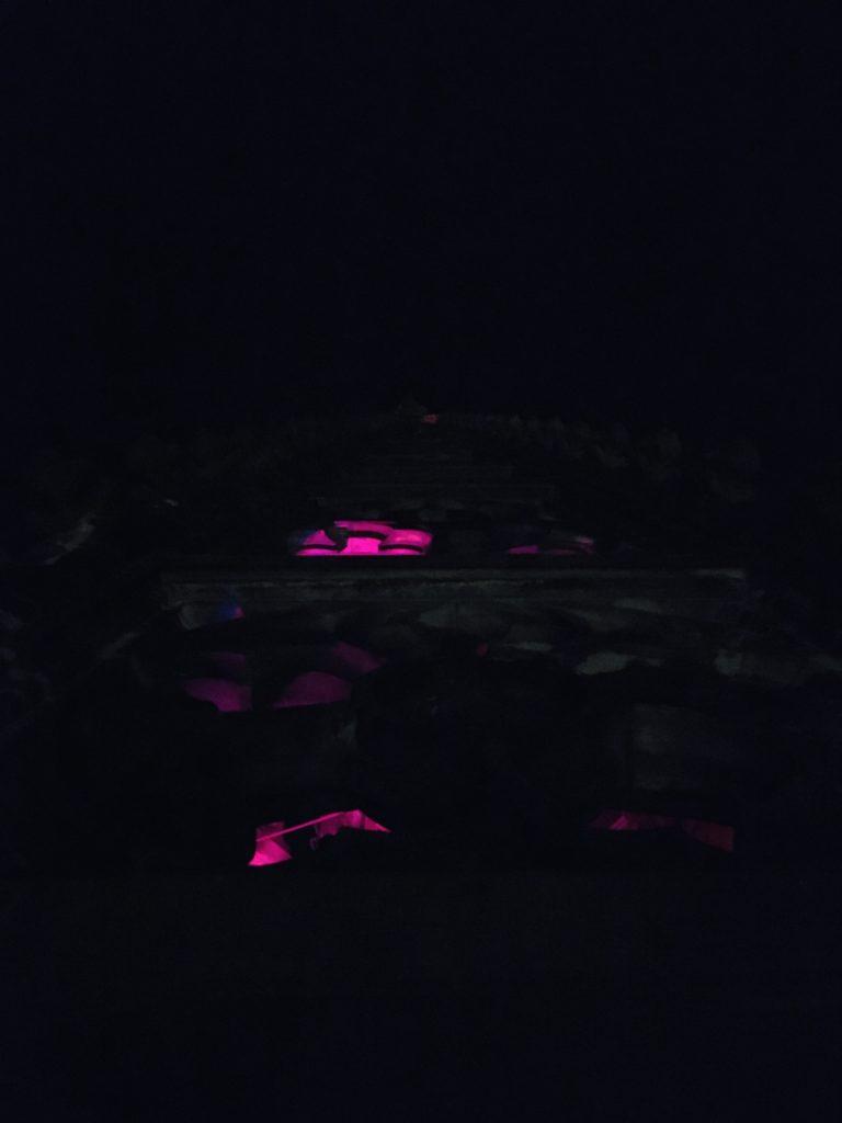 Lambertikirchturmspitzenbeleuchtung zu St. Martin 2020, Foto: m-ART-je