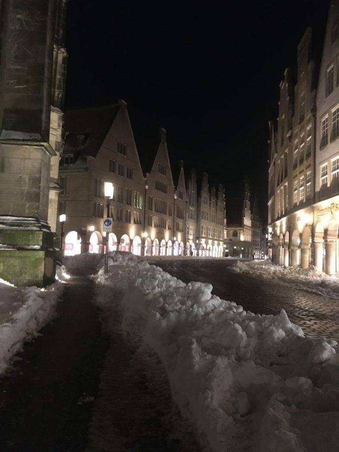 Schnee in Münster