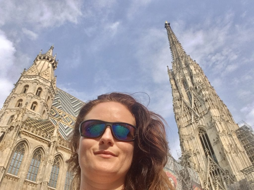 Selfie vorm Steffl