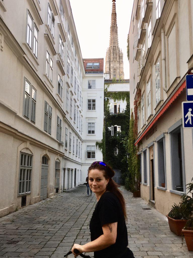 Türmerin von Münster sucht den Stephansdom
