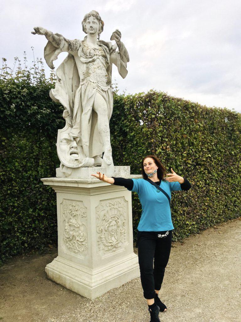im Park vom Belvedere... Wien 2020
